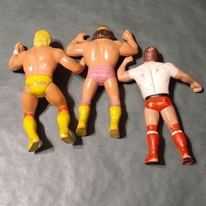 WWE Other - WWF LJN Figures Lot of 3